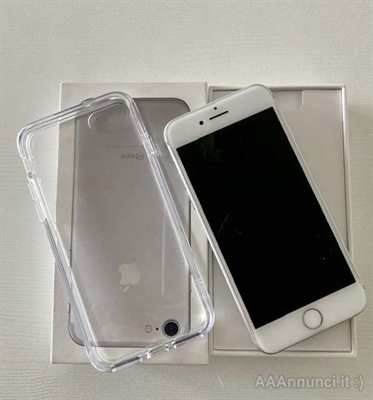 I Phone 7 bianco/argento