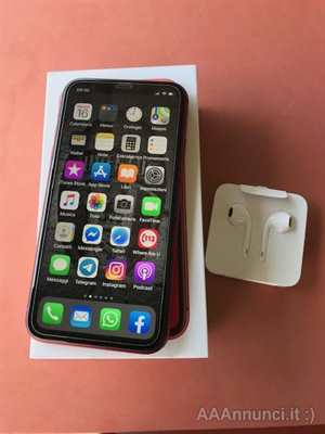Iphone XR rosso 64gb