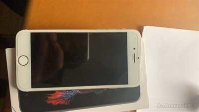 Iphone 6 64 GB argento