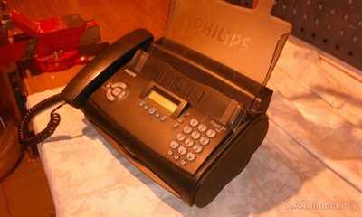 Telefono con fax Philips