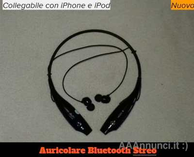 Auricolare stereo Bluetooth per Iphone