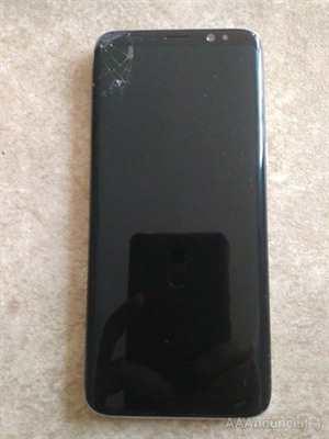 Samsung Galaxy S8 display e vetro rotto