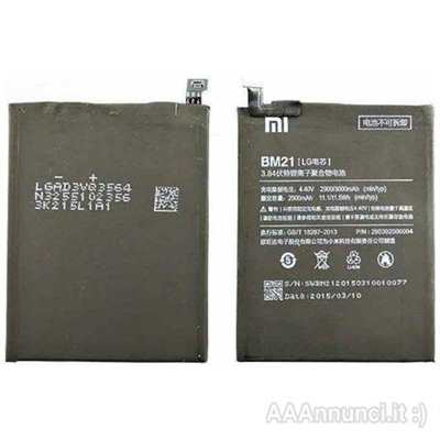 3 Batterie XIAOMI Originali Bm21 × Xiaomi Mi NOTE
