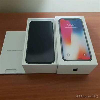 IPhone X - Come nuovo. Disponibile per qualsiasi