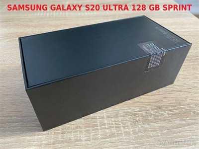 Samsung Galaxy S20 5G Ultra 128GB Nuovo