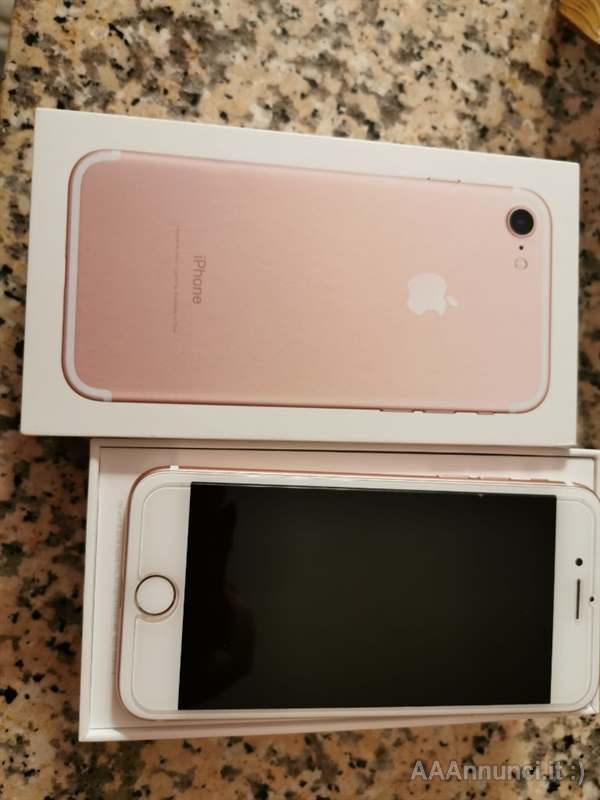 IPhone 7 Rose Gold 32 GB come nuovo