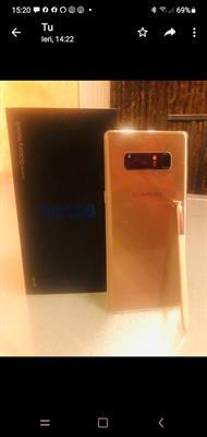 Samsung Note 8 Plus Oro