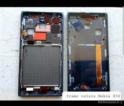 Lumia 830 Telaio centrale + Frame per Nokia lumia 830 .